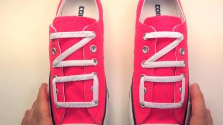 最新潮个性鞋带系法, 简单易学, 系出来效果真的不一样