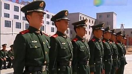 实拍武警部队队列会操比赛, 整齐划一的队列引来阵阵掌声