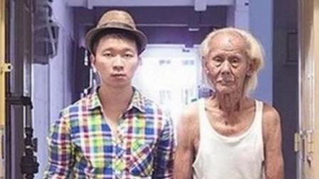 年轻人与老人互换衣服后的对比效果图, 网友: 人靠衣装, 马靠鞍