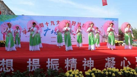 古典舞蹈《江南雨》美女把你带到江南水乡?