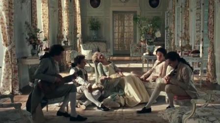 《绝代艳后》艳后在法国生活多姿多彩, 乐队环绕, 沉醉在了音乐的世界里!