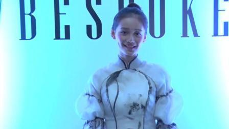 新晋影后孙伊涵畅聊中国风 模特演员双重生活很享受
