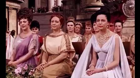 埃及艳后第一次去罗马, 风云美人出行阵势浩大!