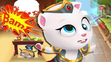 汤姆猫跑酷【360】剐蹭30次障碍物
