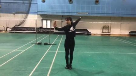 中国武术, 一个退役后的习武女孩, 身手动作太漂亮了!