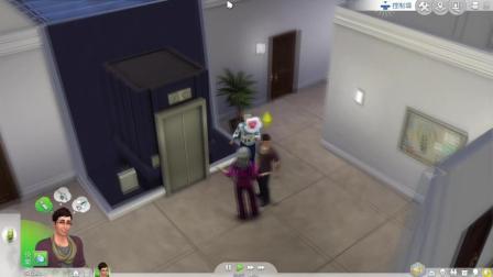 【发糕解说】模拟人生4(ps4)第二期: 公寓生活尴尬的一天