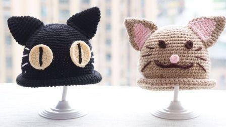 「第26集」萌系手作  小动物系列宝宝帽主体的钩法钩宝宝毛线帽