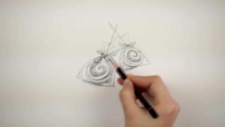 素描图片素描棒棒糖教学2超写实素描