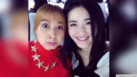辣妈谢娜孕期心情好 和吴昕相聚不忘做鬼脸搞怪