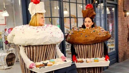 连同道大叔都不知道十二星座的女生, 是这样吃蛋糕的