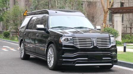 18新款林肯领航员加长5.9米领袖一号商务房车价格报价车