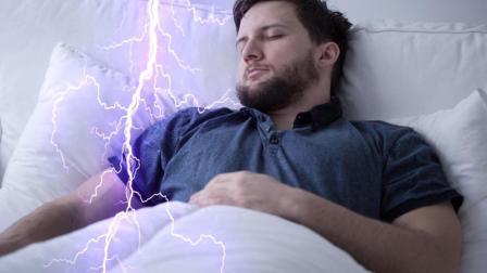 如果睡觉时 身体猛地一抖 那么你要小心了