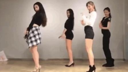 美女跳AOA《猫步轻悄》舞蹈, 舞姿好美, 一不小心就中了这舞曲的毒!