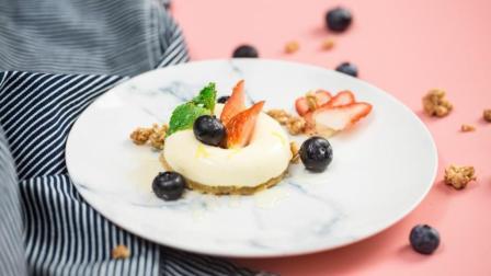 草莓奶酪蛋糕, 必备高颜值小点心, 做法简单!