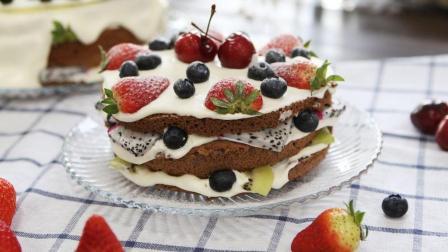 裸蛋糕配上水果的香甜, 这个下午茶又是抵挡不住甜蜜的诱惑!