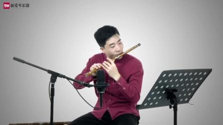 新爱琴从零开始学竹笛公益课《句句双》曲目演示