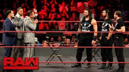 【RAW 11/20】捍卫者做客米兹电视秀 罗门伦斯表示很喜欢洲际冠军头衔