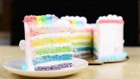 【彩虹蛋糕】, 少女心爆棚, 简单易学还美味!