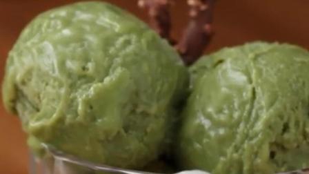 抹茶香芋冰淇淋, 简单易学喜欢可以试试!
