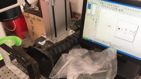 智能家居主机模具外壳背部接口图案激光镭雕