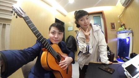 吉他弹唱 有你的快乐(搭档: 汤青云)