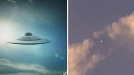 天空突现UFO驱散云层 网友: 这次视频很清晰