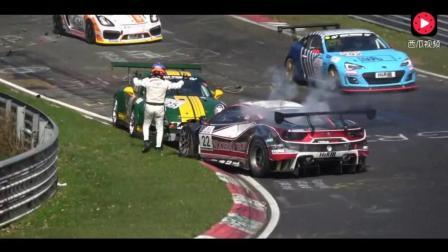 赛车在纽柏格林北环赛道山的那些失误
