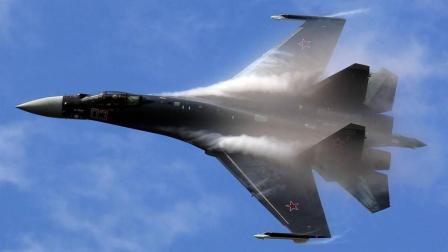 实拍: 近观迪拜航展苏35战机飞行表演, 作战性能不输F22