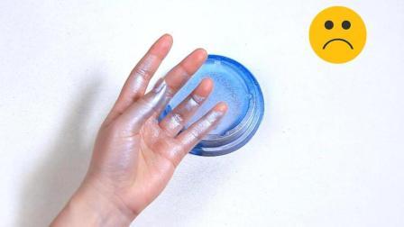 测试一下, 涂了护手霜后, 喷在手上的喷漆真的很容易用纸擦掉吗