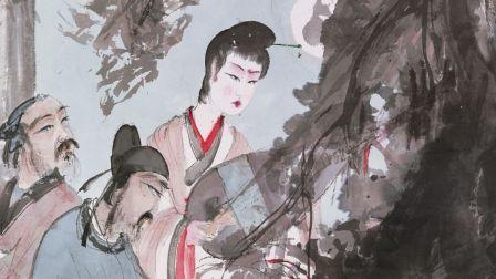 孔祥熙家族旧藏傅抱石《琵琶行》