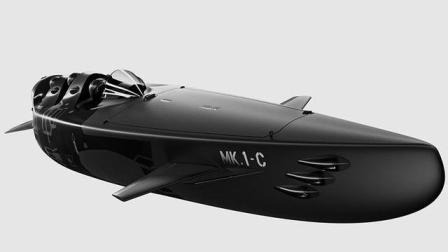 """潜艇中的""""法拉利"""", 水上如飞机下潜如鲨鱼, 将成航母一大危险"""