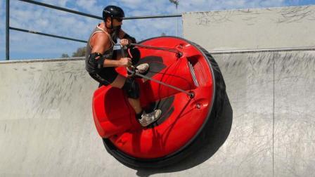 骑着悬浮滑板去上班, 一堵车就飞檐走壁, 法拉利都不换