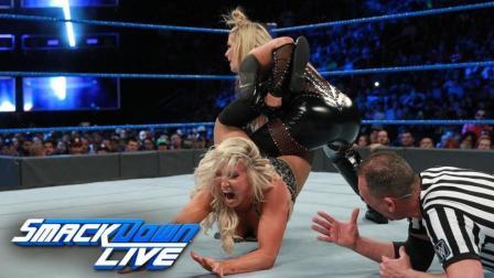 【SD 11/21】夏洛特娜塔莉亚冠军重战赛 被NXT三猛女彻底打乱节奏