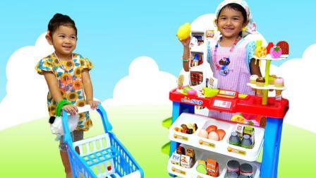 小小超市系列二 MA酱变身售货员
