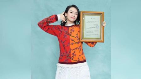 章子怡获评委会主席聘书 文字传情表白母校浪漫满