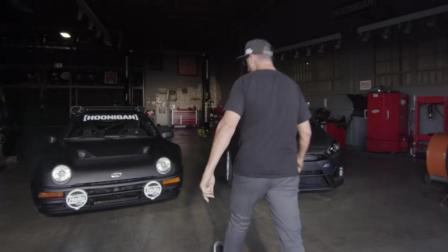 【神车日记】砖叔Ken Block的RS神车日记, 驾驶700马力的福特RS200以及福特福克斯RS