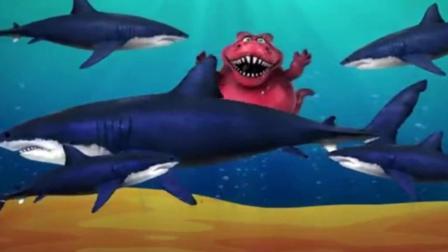 恐龙总动员之会变色的小恐龙乐园玩具动画视频5