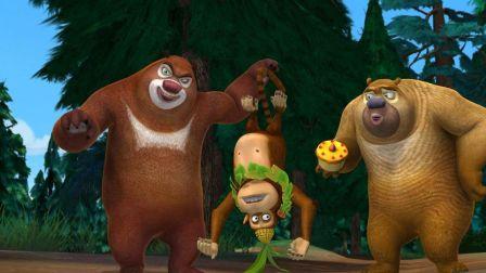 熊出没之熊熊乐园  熊大熊二蛋糕争夺战