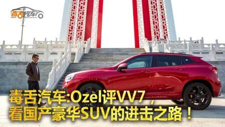 Ozel评VV7, 看国产豪华SUV的进击之路!-毒舌汽车Ozel