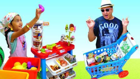 小小超市系列三 奇怪的客人来购物