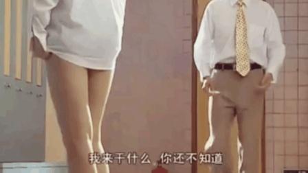 猥琐男子溜进女更衣室, 推倒正在换衣服的美女