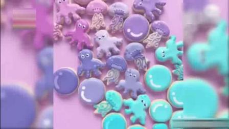 艺术霜糖饼干, 章鱼、水母、海马……各种萌萌哒小动物信手拈来