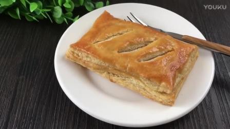 烘焙蛋挞最简单做法视频教程 千层肉松派的制作方法hd0 烘焙之星8教程