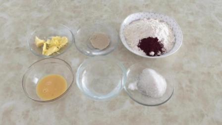 烘焙培训班 戚风蛋糕制作教程 君之戚风蛋糕的做法6寸
