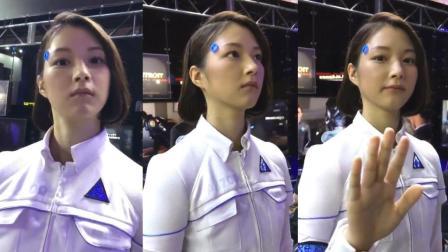 """傻傻分不清? 这位美女到底是真人还是""""机器人"""" 网友都炸了锅 134"""