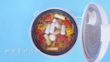 电饭煲做的懒人火锅, 吃一次只要洗一口锅, 味道还不输海底捞!