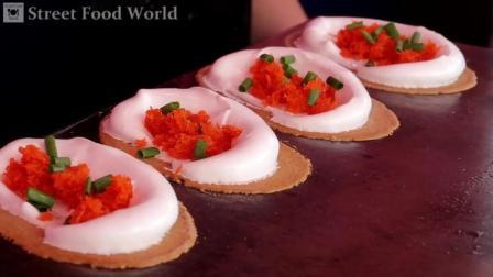 泰国甜煎饼, 美味的香酥椰子饼甜点