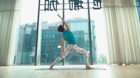 一套瑜伽流动序列, 打开胸腔和肩膀!