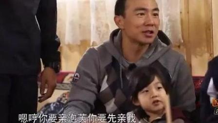 刘畊宏: 嗯哼你要亲泡芙得先亲我, 嗯哼一举动太机智了