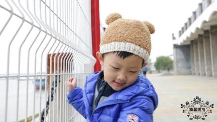 雅馨绣坊帽子编织视频第14集:绒绒线小熊帽上集收针图解视频